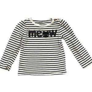 Gymboree Striped 'Meow' Long Sleeve Shirt
